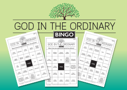 God in the Ordinary Bingo Cards