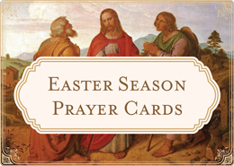 Easter Season Prayer Cards