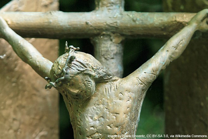 Crucifixion - image by Frank Vincentz, CC BY-SA 3.0, via Wikimedia Commons