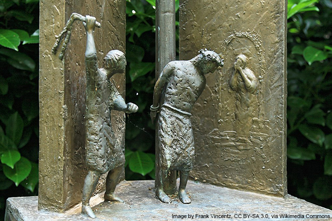 Scourging at the Pillar  - image by Frank Vincentz, CC BY-SA 3.0, via Wikimedia Commons