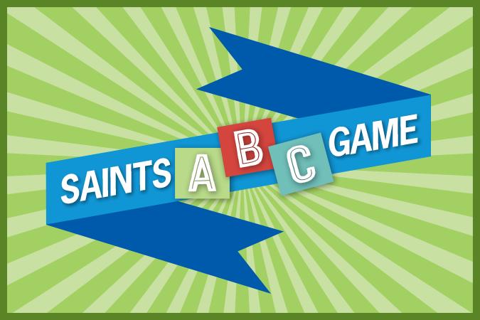 Saints ABC Game