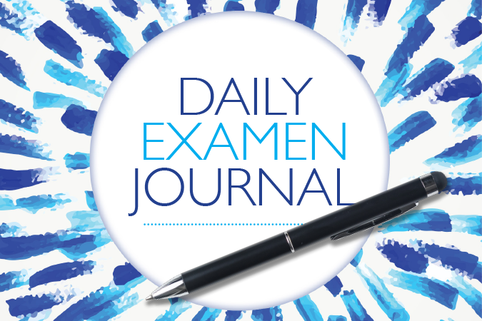 Daily Examen Journal - printable booklet