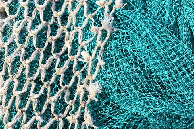 fishing net - photo by Waldemar Brandt on Unsplash