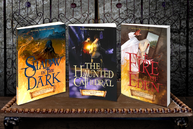 Harwood Mysteries trilogy of books