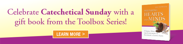 Celebrate Catechetical Sunday with a gift book from the Toolbox series. - image of Preparing Hearts and Minds book